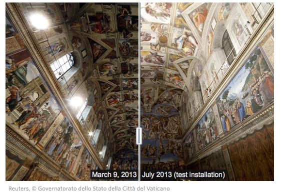Sistine Chapel app