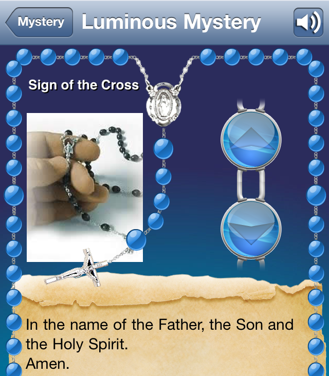 During The Rosary Month Try The Virtual Beads Of A Rosary App
