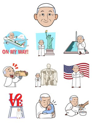 Popemoji-screenshot