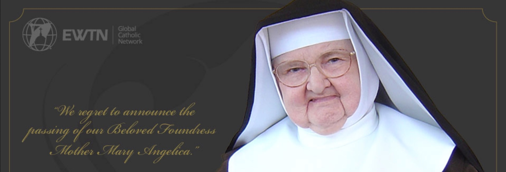 Use free EWTN app to follow coverage of Mother Angelica's funeral